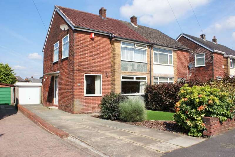 3 Bedrooms Semi Detached House for sale in Astley Road, Harwood