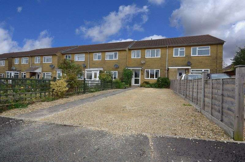 3 Bedrooms Terraced House for sale in Moorlands Park, Martock