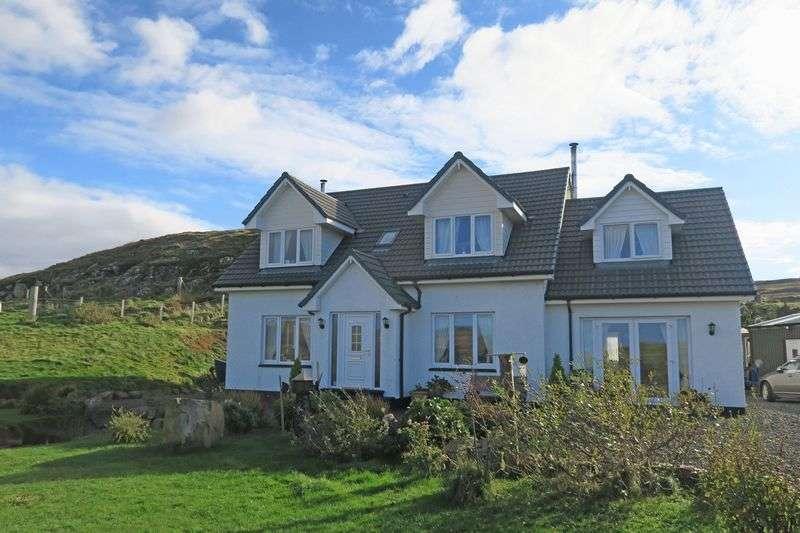 5 Bedrooms Detached House for sale in HILLSIDE VIEW: 2 en-suites plus annex & views, NW Skye
