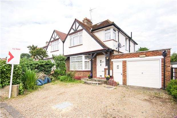 3 Bedrooms Semi Detached House for sale in Redhill Drive, EDGWARE, Middlesex, HA8 5JL