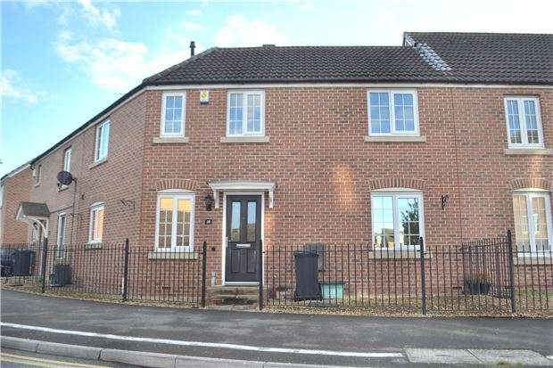 3 Bedrooms Terraced House for sale in Valley Gardens Kingsway, Quedgeley, GLOUCESTER, GL2 2AR