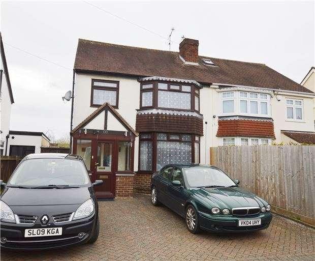 4 Bedrooms Semi Detached House for sale in Glebe Road, Prestbury, CHELTENHAM, GL52 3DG