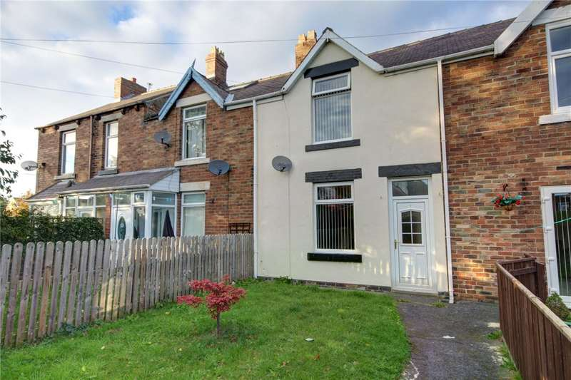 2 Bedrooms Terraced House for sale in Cooperative Terrace, New Brancepeth, Durham, DH7