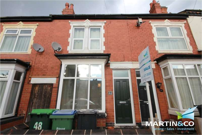 2 Bedrooms Terraced House for sale in Reginald Road, Bearwood