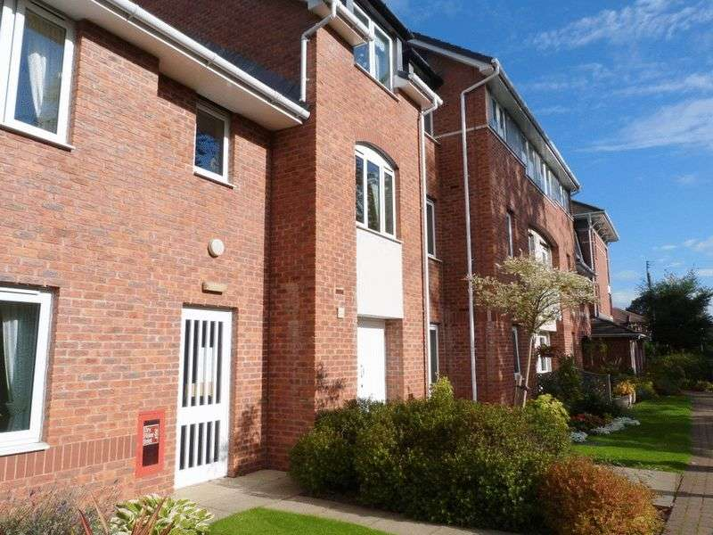 2 Bedrooms Retirement Property for sale in Bernard Court, Holmes Chapel, CW4 7EY