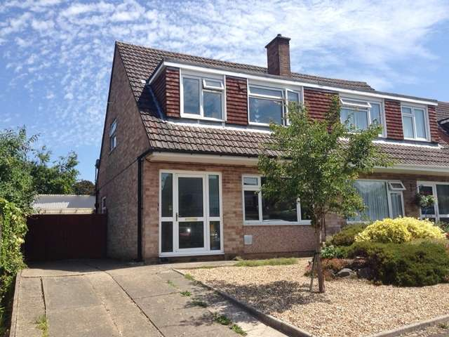 3 Bedrooms Semi Detached House for sale in Mount Close, Honiton