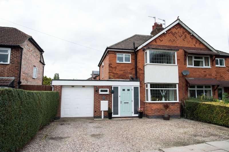 3 Bedrooms Semi Detached House for sale in Rykneld road, Littleover, Derbyshire, DE23