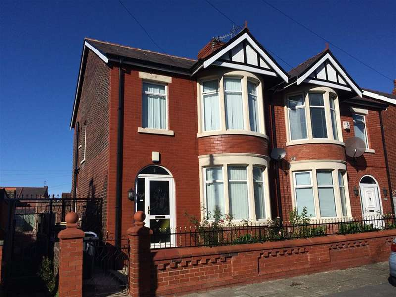 3 Bedrooms Semi Detached House for sale in Sharow Grove, Blackpool, FY1 5NE