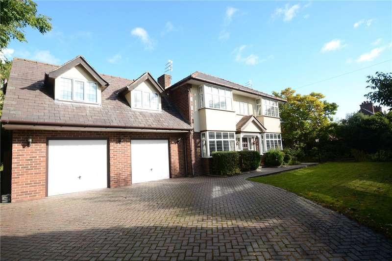 5 Bedrooms Detached House for sale in School Lane, Childer Thornton, Cheshire