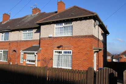 2 Bedrooms End Of Terrace House for sale in Woodthorpe Road, Woodthorpe, Sheffield