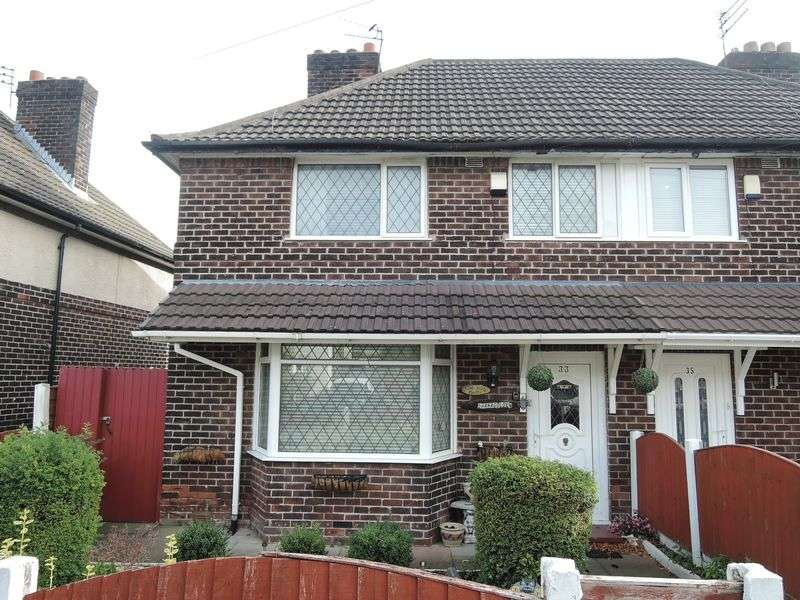 3 Bedrooms Semi Detached House for sale in Rotherby Road, Manchester