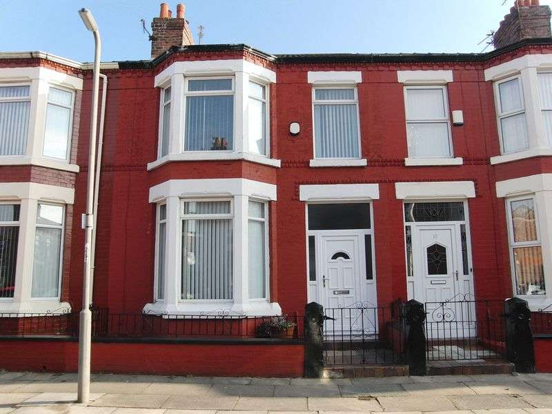 3 Bedrooms Terraced House for sale in Tynville Road, Liverpool