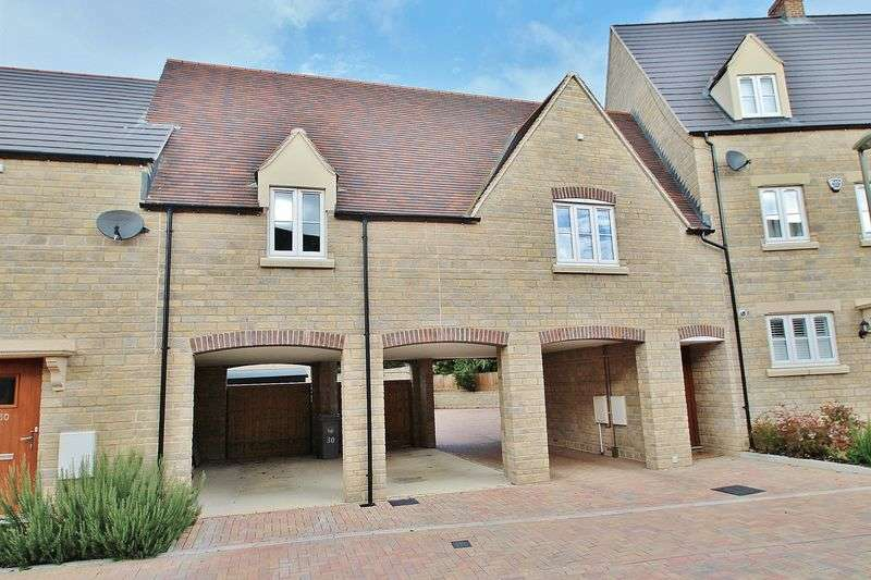 2 Bedrooms Flat for sale in Carriage Crescent, Buttercross Lane Development, WITNEY OX28 4DR