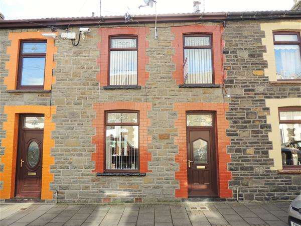 3 Bedrooms Terraced House for sale in New Century Street, Tonypandy