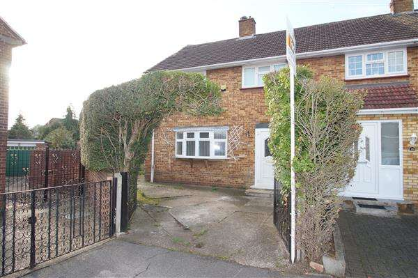 4 Bedrooms Semi Detached House for sale in Cress Road, Cippenham, Slough