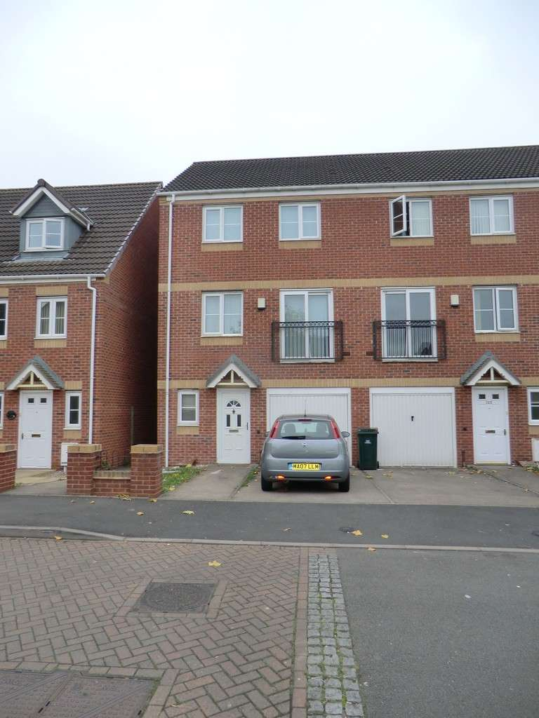 4 Bedrooms Town House for sale in Signet Square, Stoke