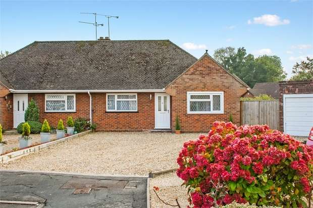 2 Bedrooms Semi Detached Bungalow for sale in Priors Court, Ash, ALDERSHOT, Hampshire