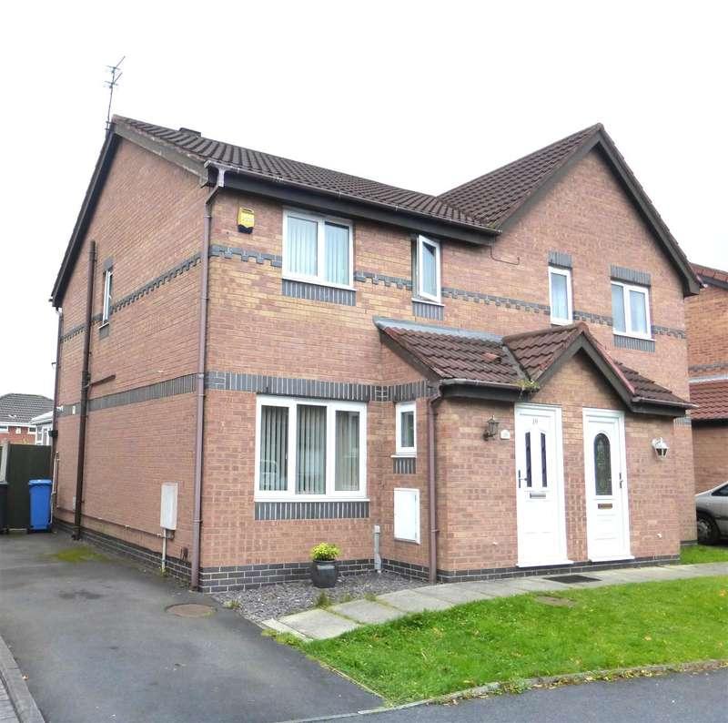 3 Bedrooms Semi Detached House for sale in Broadlands, Prescot