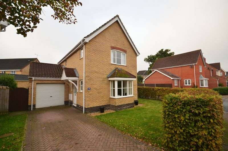 3 Bedrooms Detached House for sale in Dussindale, Norwich
