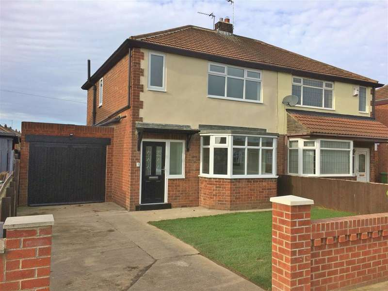 3 Bedrooms Semi Detached House for sale in Kingsley Avenue, Hartlepool