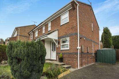 2 Bedrooms Semi Detached House for sale in Herriot Drive, Off Derby Road, Chesterfield, Derbyshire