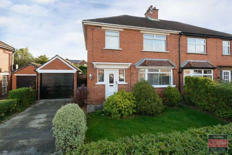 3 Bedrooms Semi Detached House for sale in 43 Norwood Drive, Belfast, BT4 2EB
