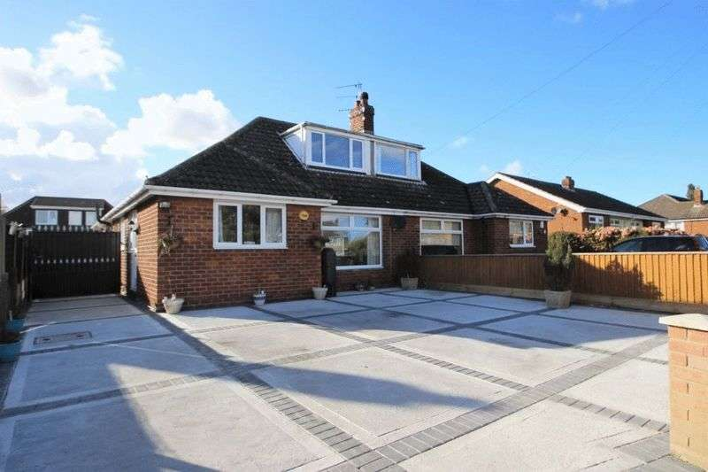 3 Bedrooms Semi Detached Bungalow for sale in LOUTH ROAD, HOLTON LE CLAY