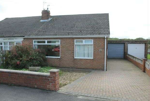 2 Bedrooms Semi Detached Bungalow for sale in Mill Holme Drive, Brotton