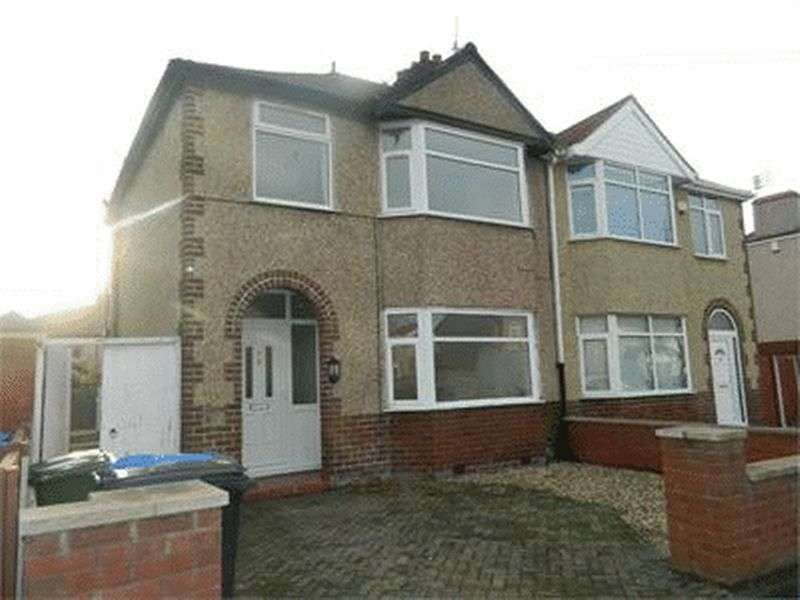 3 Bedrooms Semi Detached House for sale in Knowsley Avenue, RHYL