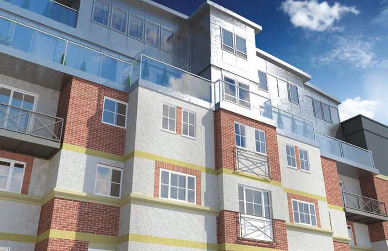 2 Bedrooms Flat for sale in Mint Walk, Croydon, CR0