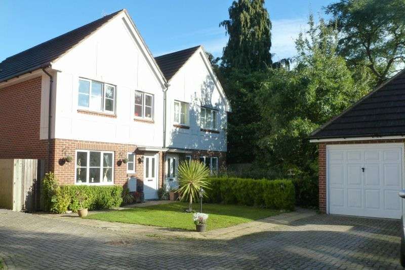 3 Bedrooms Semi Detached House for sale in Nursery Close, Oxhey Hall, Watford