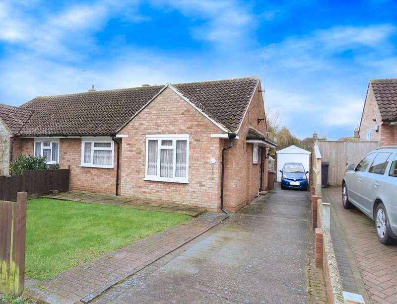 2 Bedrooms Semi Detached Bungalow for sale in Tritton Fields, Kennington, Ashford, TN24