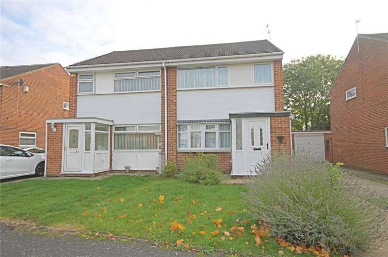 3 Bedrooms Semi Detached House for sale in Moffat Close, Darlington, County Durham, DL1