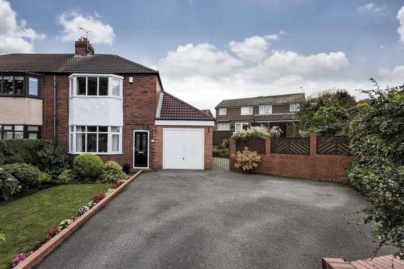 2 Bedrooms Semi Detached House for sale in 18 Springbank Road, Gildersome, Leeds, LS27 7DJ