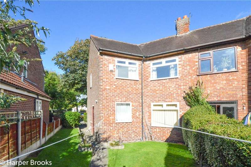 3 Bedrooms Semi Detached House for sale in Winterslow Avenue, Manchester, Greater Manchester, M23