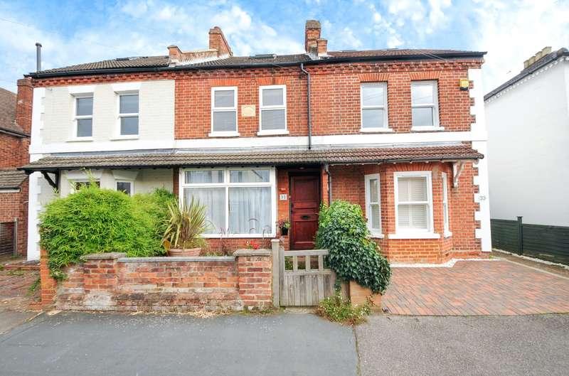3 Bedrooms Terraced House for sale in Queens Road, Egham, Egham, TW20