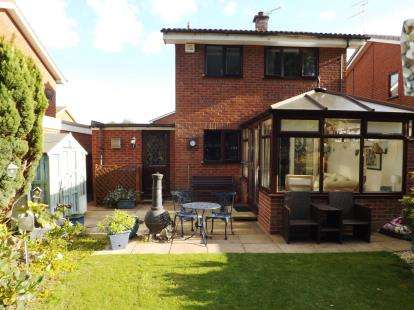 3 Bedrooms Detached House for sale in Brunel Grove, Perton, Wolverhampton, Staffordshire