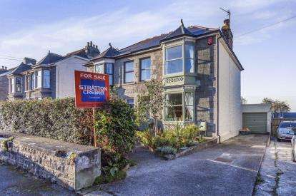 3 Bedrooms Semi Detached House for sale in Camborne, Cornwall, U.K.