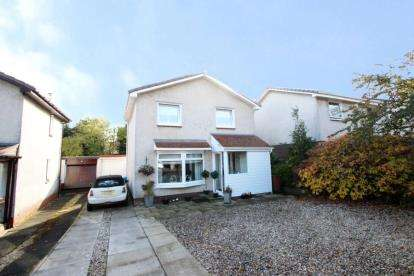 3 Bedrooms Detached House for sale in Brackenrig Crescent, Waterfoot