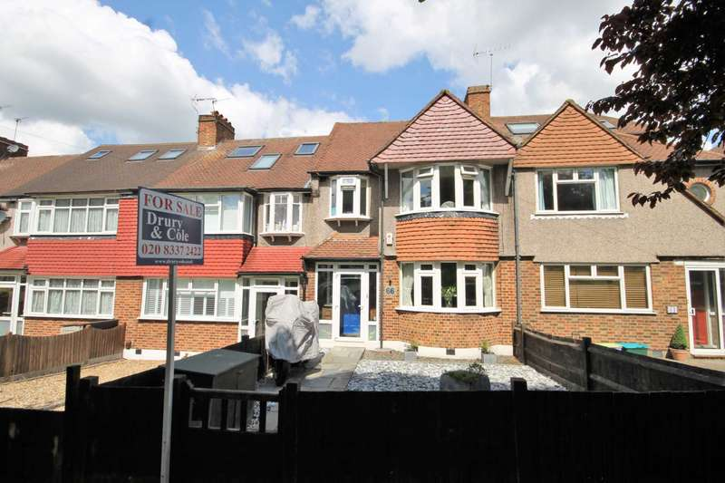 3 Bedrooms Terraced House for sale in Hillcross Avenue, Morden