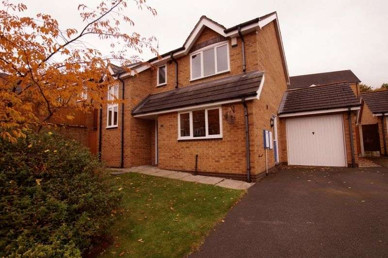 3 Bedrooms Detached House for sale in Celtic Road, Summerhill, Wrexham