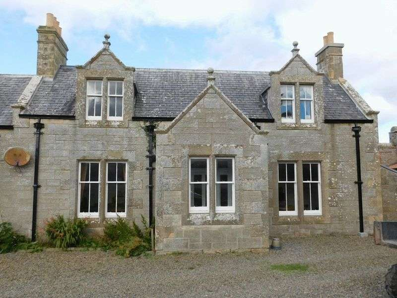 2 Bedrooms Semi Detached House for sale in Butlers Cottage, Sandside, Reay, Thurso, Caithness, KW14 7RN