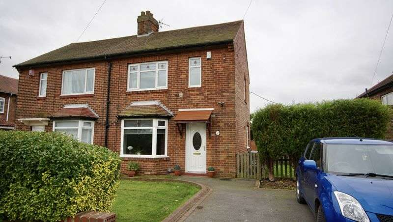 2 Bedrooms Semi Detached House for sale in CROSSLEY TERRACE, Forest Hall