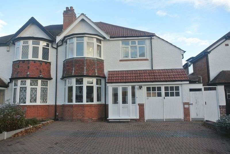 4 Bedrooms Semi Detached House for sale in Pembroke Croft, Birmingham