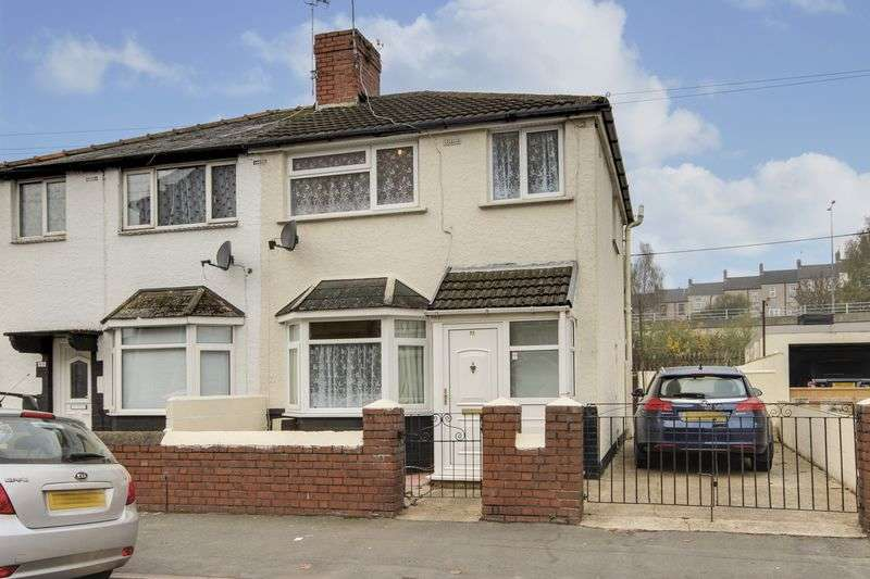3 Bedrooms Semi Detached House for sale in Ailesbury Street, Newport