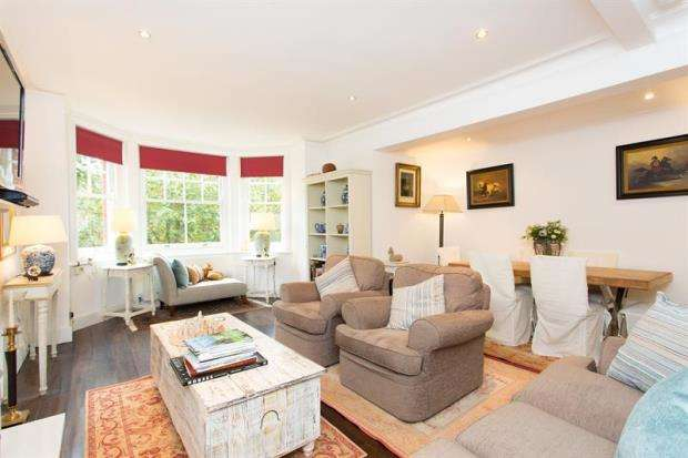 3 Bedrooms Flat for sale in Owen Mansions, Queen's Club Gardens, London, W14