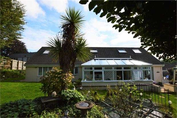 4 Bedrooms Detached Bungalow for sale in Balland Park, Ashburton, Ashburton, Devon. TQ13 7BU