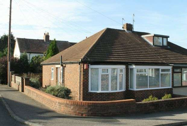 2 Bedrooms Semi Detached Bungalow for sale in Carmel Gardens, Guisborough