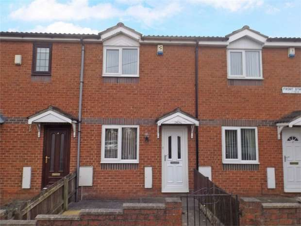 2 Bedrooms Terraced House for sale in Front Street, Pelton Fell, Chester le Street, Durham