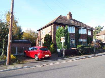 3 Bedrooms Semi Detached House for sale in Audon Avenue, Beeston, Nottingham